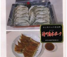 清川村産 惠水ポークで作った餃子